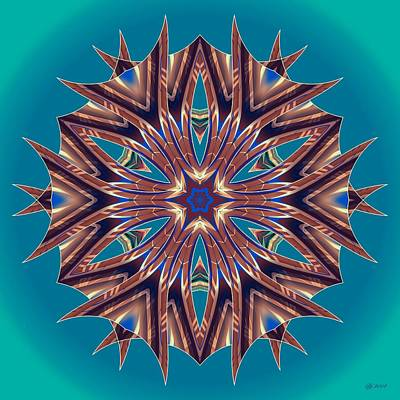 Digital Art - Awaken 53 by Brian Johnson