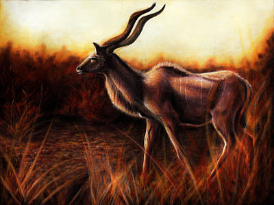 Bucking Bull Painting - Awaken by Danielle Trudeau