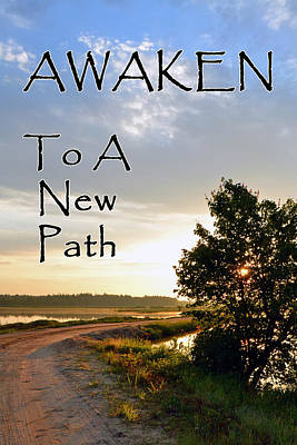 Photograph - Awaken To A New Path by Beth Sawickie