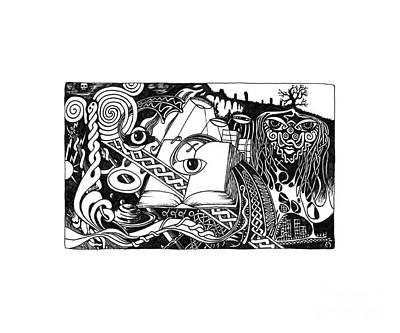 Awakening Art Print by Anthony Hodgson