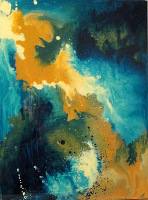 Painting - Awakening B by Mary Kay Holladay