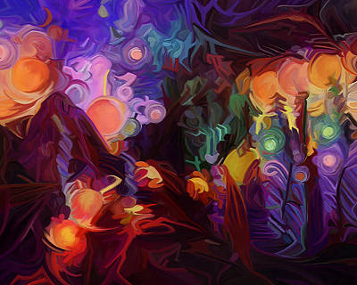 Awakening Art Print by Dorinda K Skains