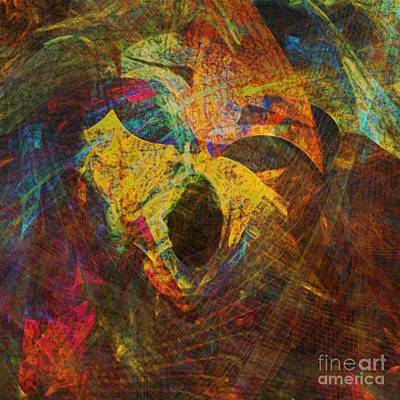 Awakening Art Print by Klara Acel