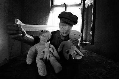 Doll Photograph - Awakening by Mario Grobenski -