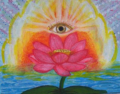 Chakra Painting - Awakening by Robin Phillips