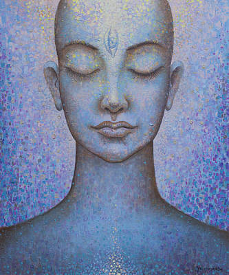 Painting - Awakening by Vrindavan Das