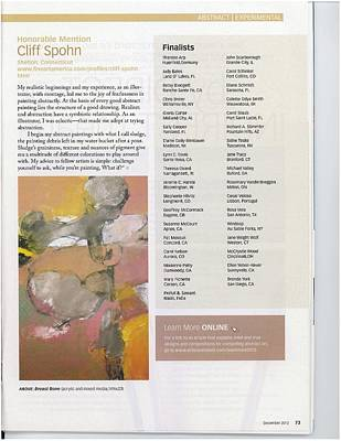 Photograph - Award  Winners Page  by Cliff Spohn