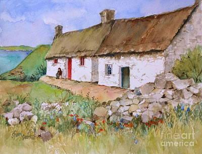 Away In Ireland Art Print