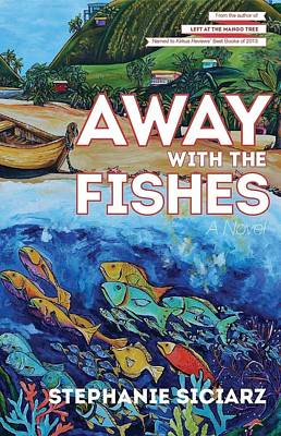 Painting - Away With The A Fishes Book Cover by Patti Schermerhorn