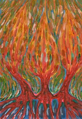 Painting - Awekening Spring by Wojtek Kowalski