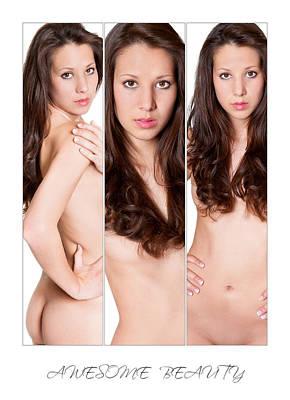 Female Body Photograph - Awesome Beauty 3 by Jochen Schoenfeld