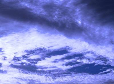 Photograph - Awesome Blue Florida Morning Sky by Belinda Lee