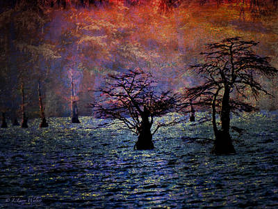Digital Art - Awesome Sunrise by J Larry Walker