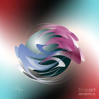 Axial Rotation Art Print by Leo Symon