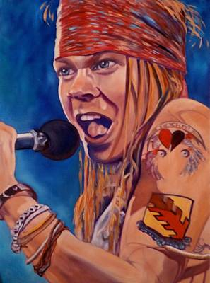 Axl Painting - Axl by Christina Clare