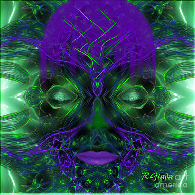 Concentration Digital Art - Ayahuasca Experience - Fantasy Art By Giada Rossi by Giada Rossi