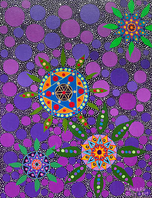 Painting - Ayahuasca Vision - The Healing Power Of Plants by Howard Charing