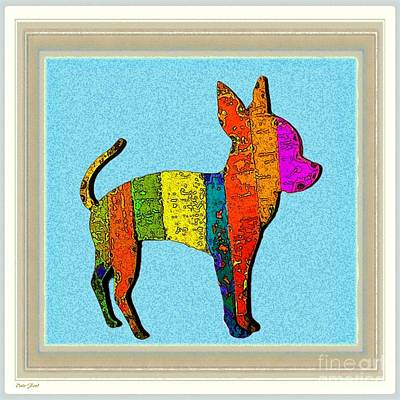 Aye Chihuahua Art Print by Dale   Ford