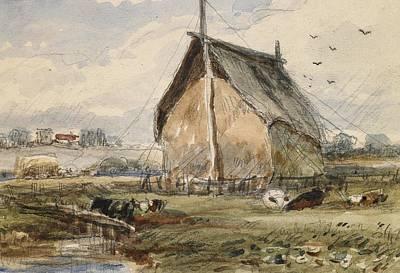 On Paper Painting - Aylestone by James Orrock
