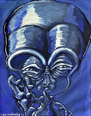 Trippy Painting - Aylmao by Luke Horowitz