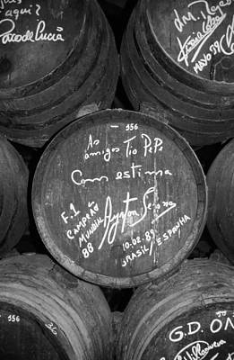 Barrel Photograph - Ayrton Senna - 1988 Jerez by Juergen Weiss