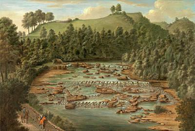 Aysgarth Falls, Yorkshire, Balthazar Nebot Art Print