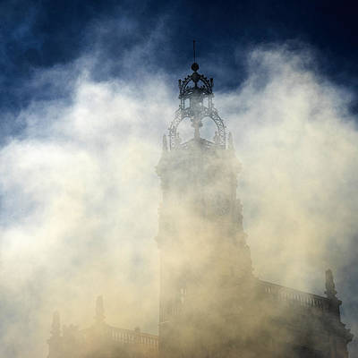 Photograph - Ayuntamiento In Masclaeta Smoke by For Ninety One Days