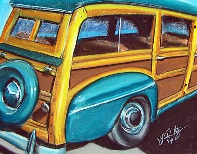 Pastel - Az Woody by Michael Foltz