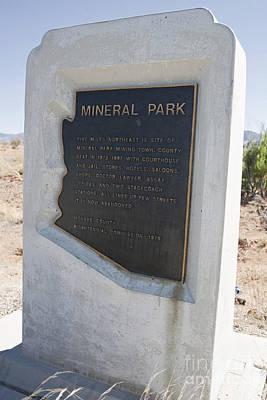 Az001 Mineral Park Art Print