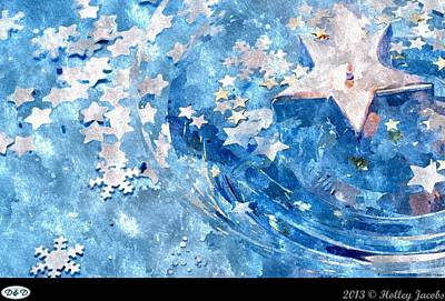 Digital Art - Azalea Womanhood Passion Fragility Take Care by Holley Jacobs