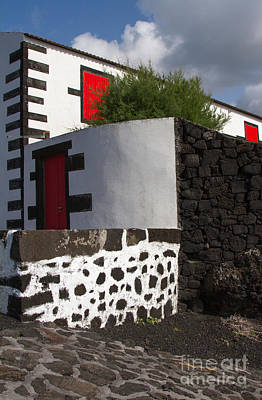 Photograph - Azores House by Chris Scroggins