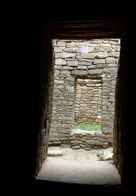 Photograph - Aztec Doorway by Joe Kozlowski