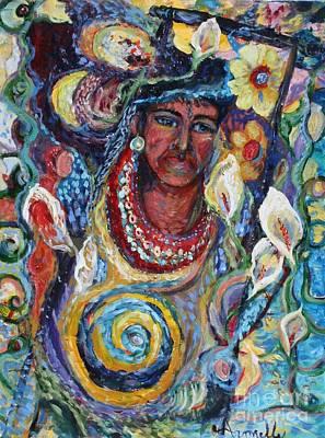 Aztec Garden Art Print
