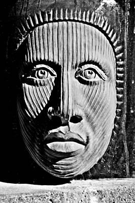 Aztec Man Art Print by Bob Wall
