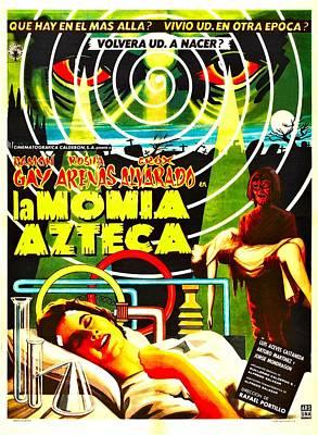 1950s Movies Photograph - Aztec Mummy, Aka La Momia Azteca by Everett