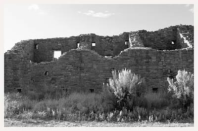 Aztec Ruins New Mexico                     Art Print by Mark Goebel