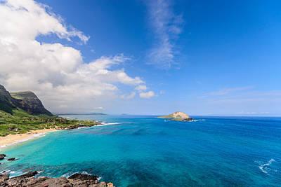 Photograph - Azure Coast by Jason Chu
