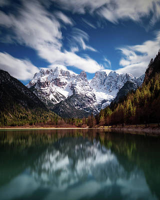 Tyrol Wall Art - Photograph - Azzurri. by Juan Pablo De