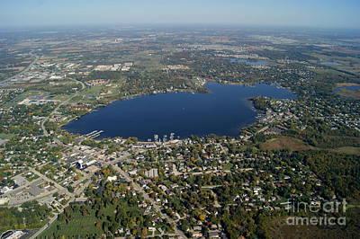 Photograph - B-029 Bangs Lake Wauconda Lake Co Illinois by Bill Lang