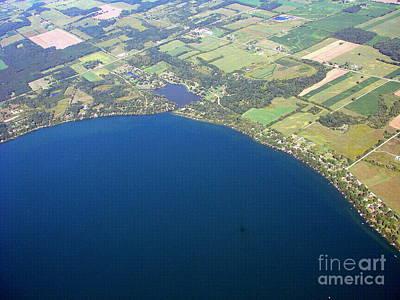 Photograph - B-032 Beyers Cove Green Lake Wisconsin by Bill Lang