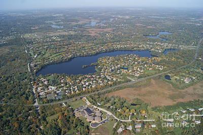 Photograph - B-040 Barrington Lake Lake Co. Illinois by Bill Lang