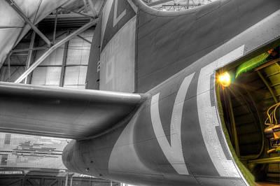 B-17 Bomber Tail Art Print