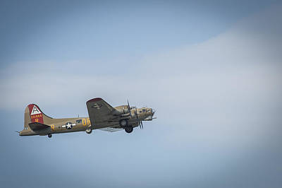 Photograph - B-17 Flying Fortress Monmouth Nj by Terry DeLuco