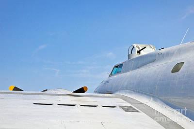Photograph - B-17 Skyward by John Waclo