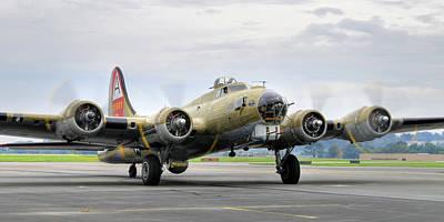 B-17g Art Print by Dan Myers