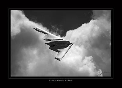 B-2 Spirit Art Print by Larry McManus