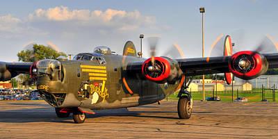 B-24j Art Print by Dan Myers