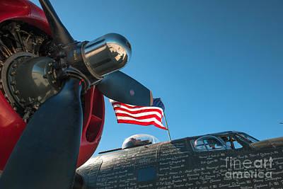 Photograph - B-24j Liberator Aircraft by Dale Powell
