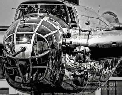 B-25 Cockpit Original by Dieter  Lesche
