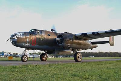 This Is England Photograph - B-25 D by Peter Geffers